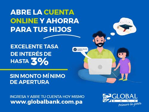 Imagen relacionada a la promoción Abre la Cuenta Online y ahorra para tus hijos