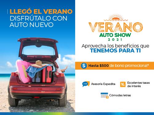 Imagen relacionada a la promoción Verano Auto Show 2021
