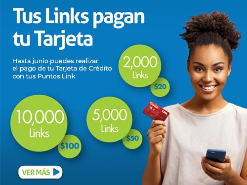 Imagen relacionada a la promoción Tus Links pagan tu Tarjeta