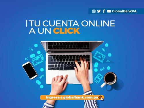 Imagen relacionada a la promoción Tu Cuenta Online a un Click