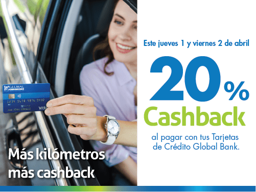 Imagen relacionada a la promoción Cashback Gasolina