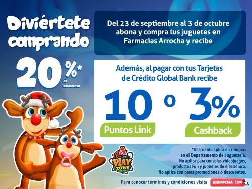 Imagen relacionada a la promoción Abono de Juguetes Arrocha