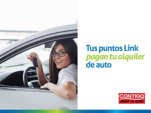 Imagen relacionada a la promoción Tus puntos link pagan tu alquiler de auto