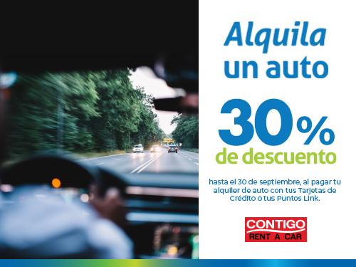 Imagen relacionada a la promoción Alquila un auto
