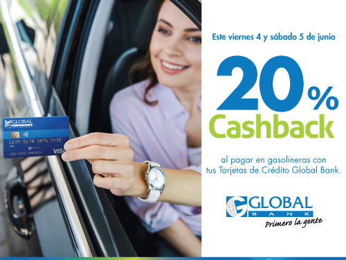 Imagen relacionada a la promoción Cashback Gasolina Junio