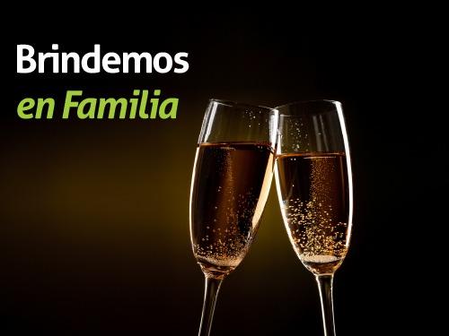 Imagen relacionada a la promoción Brindemos en Familia