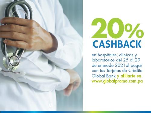 Imagen relacionada a la promoción Cashback Salud Enero-Cuida de los tuyos