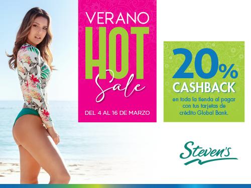 Imagen relacionada a la promoción Cashback Stevens Verano